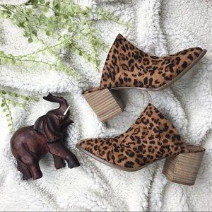 Dolce Vita Trigger Leopard Mules